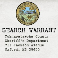 Search of Carl Asher's residence and person