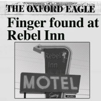 Severed finger found in guess room at Rebel Inn