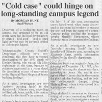 The Ole Miss student newspaper reports on the case in 2011