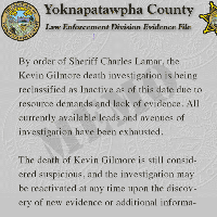 Updated status of the investigation