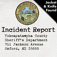 A knife and jacket were found near Toby Tubby Creek