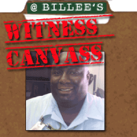 Billee's Auto Service employee canvass