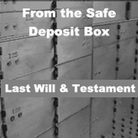 safe box-will
