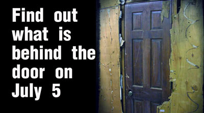 This door was hidden for decades. What's inside? Find out starting July 5th