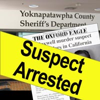 The Oxford Eagle reports on the two arrests