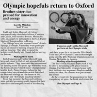 Olympic hopefuls return, Oxford Eagle, 12/14/13