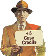 You've earned 5 Case Credits