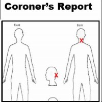 Coroner's Preliminary Summary Report on Annette Wyatt autopsy