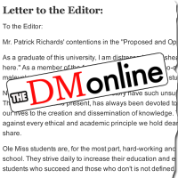 In this letter to The Daily Mississippian, Kimberly Pace expressed her outrage in response to the Proposed and Opposed column published on October 31, 2017