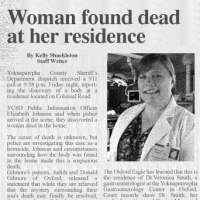 Local physician dies mysteriously at home