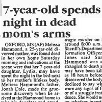 The Oxford Eagle covers the death of young mother Missy Hammond