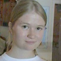 Young woman with blonde hair
