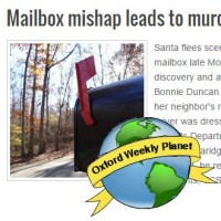 Mailbox mishap leads to murder