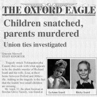 The Oxford Eagle reports: Children snatched, parents murdered
