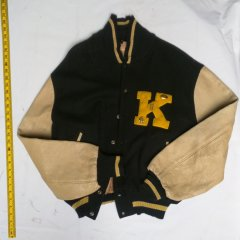 001292-24: One (1) Yoknapatawpha High School athletic letter jacket, size L