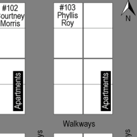 Maplewood Apartments map