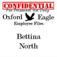 Bettina North personnel file