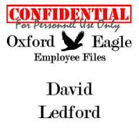 David Ledford personnel file