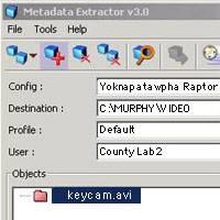 Key fob video analysis