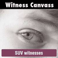 SUV witness canvass