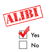 Alibi Chart