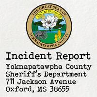 Incident report - object found