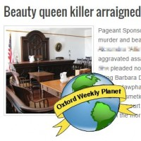 Beauty queen killer arraigned