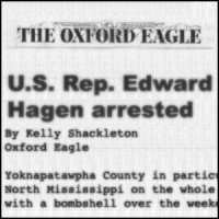 Rep Hagen Arrested