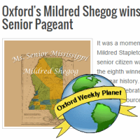 Oxonian Mildred Shegog wins Ms. Senior Mississippi