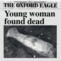 Press coverage of the discovery of young woman found murdered