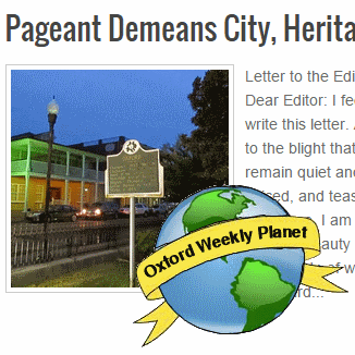 Pageant Demeans City, Heritage