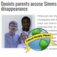 Daniels parents accuse Simms