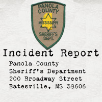 Panola County Sheriff's Dept incident report