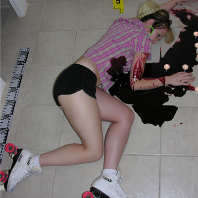 Crime scene photos