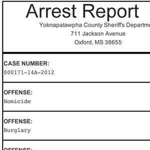 Fontaine arrest report
