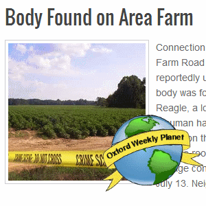 Body found on area farm