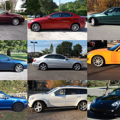 Registered vehicles for persons of interest in the Kelly Moran investigation