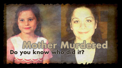 Do you know who strangled this young mother?