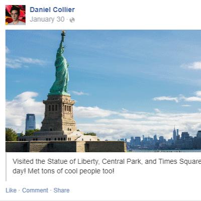 Collier social media