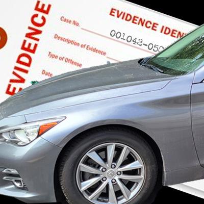 Vehicle evidence
