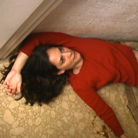 How did Kimberly Pace end up dead at the bottom of her basement stairs?