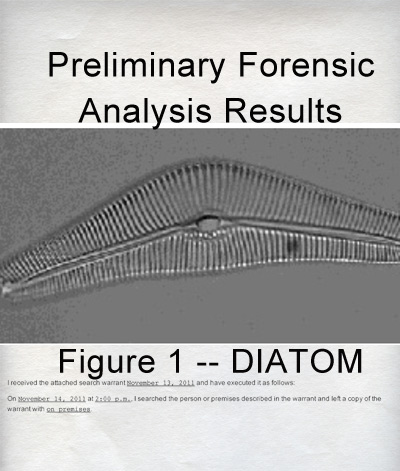 Forensics – Pace scene