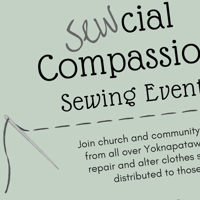 Sewcial Compassion flyer