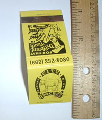 2558-15-02: City Grocery matchbook