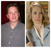 Defense attorneys Robert Pruitt and Pamela Lipscomb