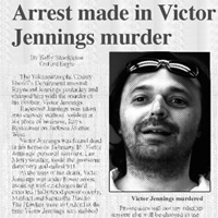 Arrest in Jennings Murder