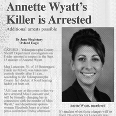 Suspect arrested in Wyatt slaying