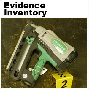 Wyatt scene evidence inventory
