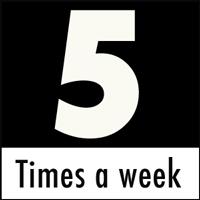 Case updates Monday through Friday
