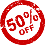 50% off memberships for one week only